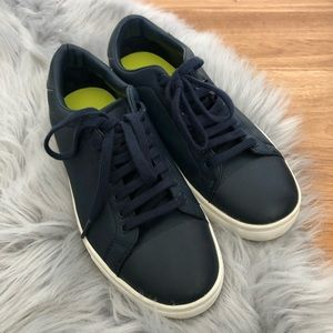 Zara Man Navy Sneakers
